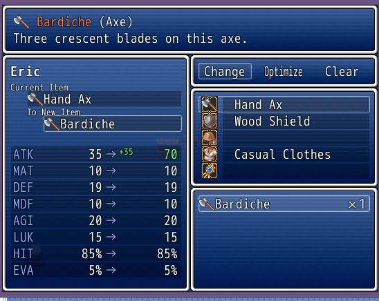 Rpg Maker Vx Ace Equipment Slots